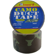 Duct Tape - Woodland Camouflage - 1.89&quot; x 10 yards