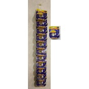 Invisible Tape Display 6 Clip Strips Wholesale Bulk