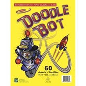 "Doodle Drawing Tablet - 9"" X 12"" - 60 sheets"
