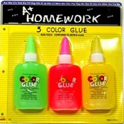 Glue - Neon colors - 3 pack