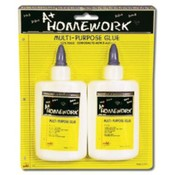 Multi Use White Glue - 2pk - 4 oz Each