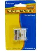 Pencil Sharpeners Metal - 2 pack Wholesale Bulk