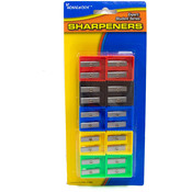 A+Homework Pencil Sharpeners - 10 pack - Dual blades Wholesale Bulk
