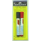 White Board Dry Erases Markers - 2 pack