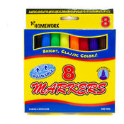 Watercolor Markers - Broad Tip - 8 Pack