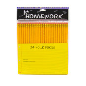 Pencils - 24 pack - No. 2 lead