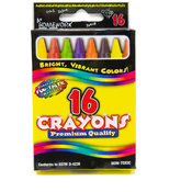 Crayons assorted colors - 16 pack