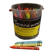 Crayons 69 ct - in a Bucket Wholesale Bulk