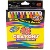 Crayons Assorted Colors - 48 pack