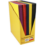"Two Pocket Discount Folders - 9"" x 12"""