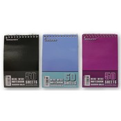"Memo Wire Note Books - 4""x6"" - 50 Sheet - 3 Pack"