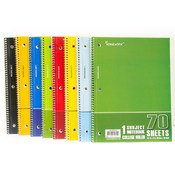 Discount One Subject Wire Notebook - College Ruled