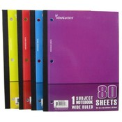 "Wireless Notebook - 80 sheets - 10.5"" x 8"" - Wide Rule"