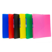 Flex Binder - Matt Asst. Colors - 3- 1&quot; Rings