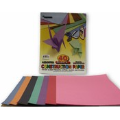 "Construction Paper - 9"" x 12"" - 40 Sheets"