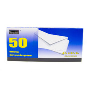 White Mailing Envelopes - #10 - 50 count/Box