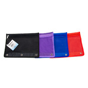 Pencil Case -Zipper Nylon with Mesh Pocket - Color