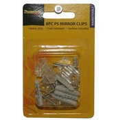 Mirror Clips- 8 Piece Wholesale Bulk