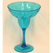 PLASTIC MARGARITA GLASS - CACTUS STEM: American Carnival Mart