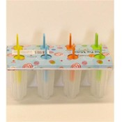 8 Pack Ice Pop Mold Set