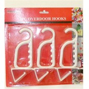 3 Piece Over Door Hooks Wholesale Bulk