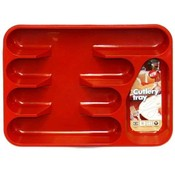 Cutlery Tray Five Section 13X10X1.5 In