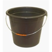 Plastic Pail With Metal Handle