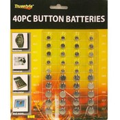 40Pc Button Batteries 8X7 In Wholesale Bulk