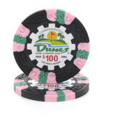$100 Commemorative Dunes Poker Chip