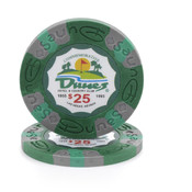 $25 Commemorative Dunes Poker Chip Wholesale Bulk
