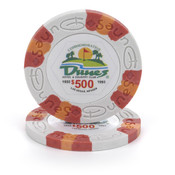 $500 Commemorative Dunes Poker Chip Wholesale Bulk