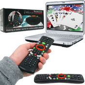 Poker Remote Control - New Improved Duo Model