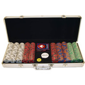 Fabulous Las Vegas 500 11.5g Poker Chip Set w/Alum