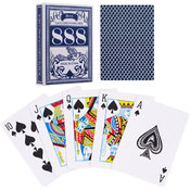 Grimaud Bird Poker Size Playing Cards - Blue Wholesale Bulk