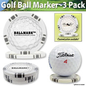 Ball Mark - Trendy & New - Poker Chip Golf Ball Ma Wholesale Bulk