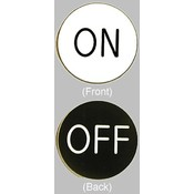 On / Off Chip Button for Craps