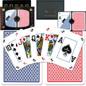 CopagT Poker Size PEEK Index - Blue*Red Setup Wholesale Bulk