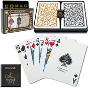CopagT Poker Size REGULAR Index - 1546 Black*Gold Wholesale Bulk