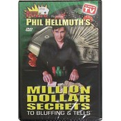 DVD- Phil Hellmuth's Million $ Secrets To Bluffing