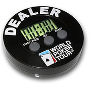 WPT Dealer Button with Built In Timer