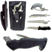 4 in 1 Hunting Knife Set - Blade, Knife, Axe, and