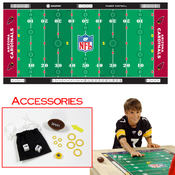 NFL Licensed Finger Football Game Mat Cardinals