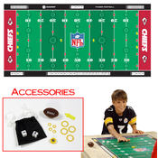 NFL Licensed Finger Football Game Mat - KC Chiefs