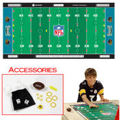 NFL Licensed Finger Football Game Mat - Jaguars