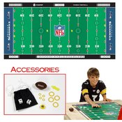NFLR Licensed Finger FootballT Game Mat - Seahawks