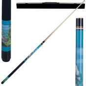 Dolphin Lover Pool Cue w/ Case
