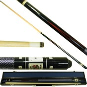 Black Royal Family Poker Pool Stick