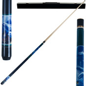 Dolphin Pool Cue Stick -  2pc with case