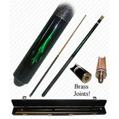 Emerald Green Designer Pool Stick