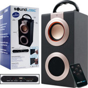 Sound Logic Rechargeable Portable Media Speaker